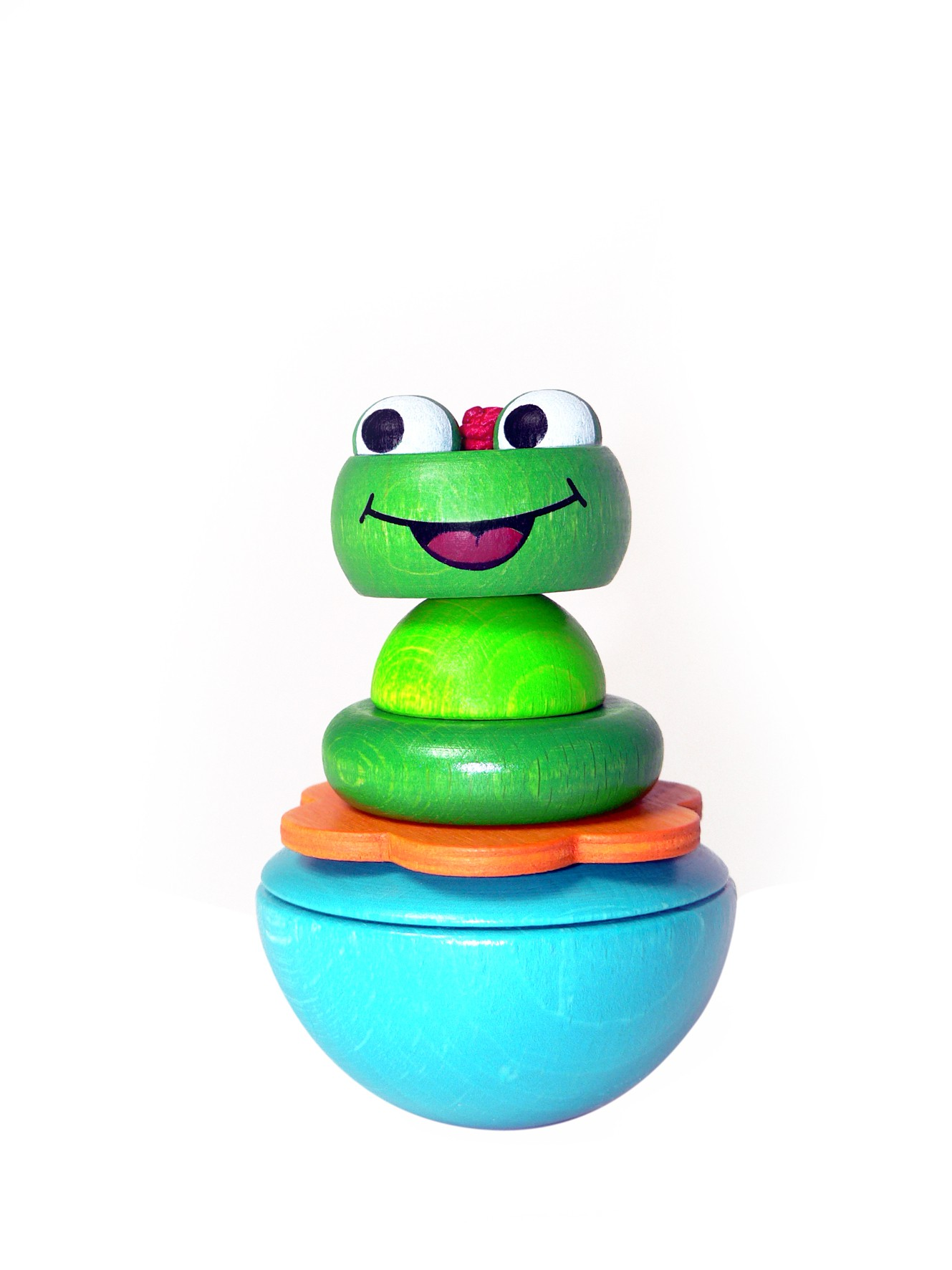 дървена жабка/ пумпал