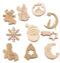 Комплект от 10 бр. играчки за елха