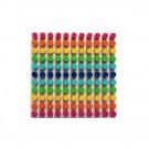 Дървена играчка Дървена мозайка от цветове