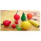 Дървена играчка плодове от дърво