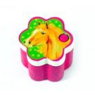Дървена играчка Кутийка за млечни зъбки, розова